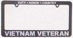 Vietnam Veteran License Plate Frames